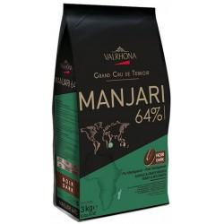 Chocolat noir Manjari Grand Cru de Madagascar 64% fèves 3kg