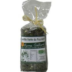 Lentilles vertes du Puy bio AOP 500g