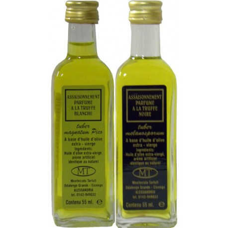 Huile d'Olive vierge extra Saveur truffe noire