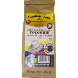 Café Colombie Bio Equitable moulu 500g