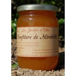 Confiture de Mirabelle artisanale Jardins d'Elise