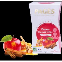 Infusion Pomme Cannelle Miel bio