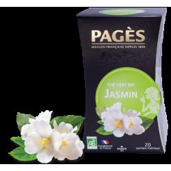 Thé vert Jasmin bio Pagès
