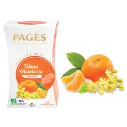 Infusion Tilleul Mandarine bio Pagès