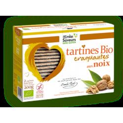 Tartines sans gluten Noix Bio Emile Noël