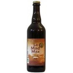 Bière ambrée bio Mad Max