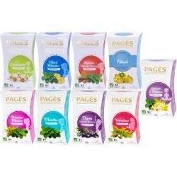 Pack Détente - Lot 8 infusions Plantes bio