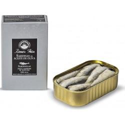 Petites sardines 12/16 à l'huile d'olive Ramon Peña