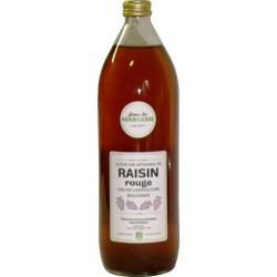 Jus de raisin rouge bio