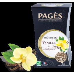 Thé noir Vanille de Madagascar bio Pagès