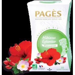 Infusion Hibiscus Eglantier Bio 20 sachets