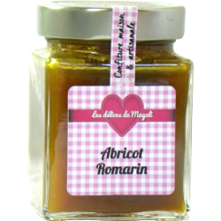 Confiture Abricot Romarin