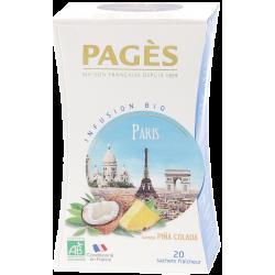 Infusion Paris by night Pina Colada 20 sachets