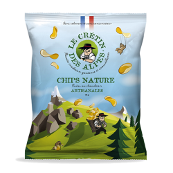 Chips nature artisanales
