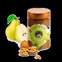 Confiture artisanale Poires & noix