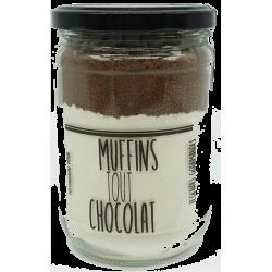 Muffins tout chocolat noir 450 g
