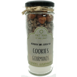 Cookies gourmands (sans gluten) 240 g