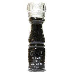 Moulin à Poivre de malabar noir des Indes