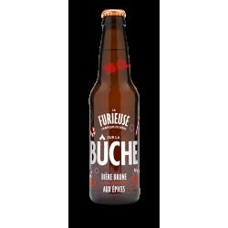 Bière de saison 75cl -La Bûche