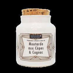 Moutarde Traditionnelle aux Cèpes et Cognac
