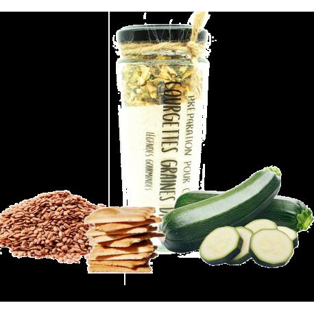 Apéritif crackers sarrasin courgettes graines de lin 175 g