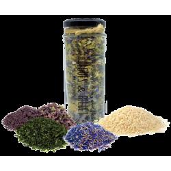 Riz Camargue aux algues et pétales de BLEUET 240g