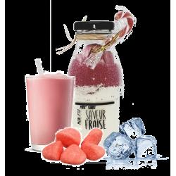 Préparation pour milk shake à la fraise Légendes Gourmandes
