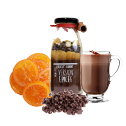 Mon P'tit Choco Chaud Cacao Version Orange Epices Légendes Gourmandes