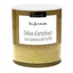 Délice d'artichaut aux saveurs de truffe
