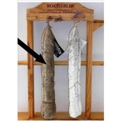 Saucisson à l'ancienne cendré Rocheblin