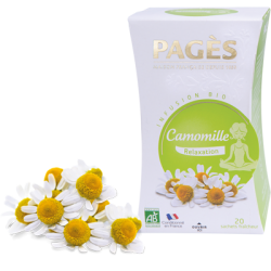 Infusion Camomille Bio 20 sachets