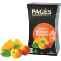 Thé vert Mangue Abricot Bio 20 sachets